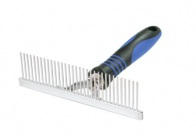 Show Tech Rake Comb Medium - Medium Deshedding Tool For Dogs