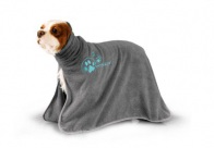 Show Tech+ Dry Dude Grey Pet Towel For Dogs And Cats