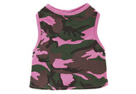Casual Canine Camo Tank Multi-Color Attire For Dogs