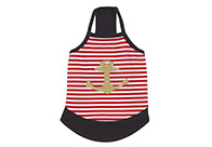 East Side Collection ESC Ships Ahoy Nautical Tank Attire For Dogs