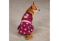 East Side Collection Monkey Business Dress Tiff Attire For Dogs
