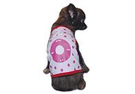 Fluff T-Shirt I Paw Pink L 30-35cm Attire