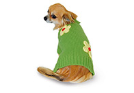 Max+Co Sweater with Flowers Attire For Dogs