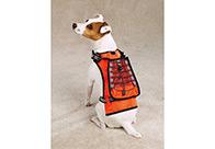 Zack & Zoe Safety Vest with Holder Drink L 40-50cm Attire
