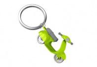 Metamorphose Scooter Design Keyring Lime