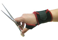 Show Tech Easy On Wrist Support - One Size For Groomers And Hairdressers