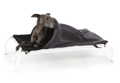Hi k9 couverture tunnel s noir gris lit pour chiens et - Couverture pour petit chien ...