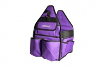 Chris Christensen Systems Small Grooming Tote Purple Travel Case For Groomers