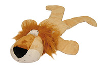 Chuckle City Plush Squeaky Lion Toy 45 cm Toys For Dogs