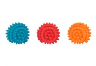Chuckle City Squeaky Latex Spiky Ball 4cm Mixed Colours Toys