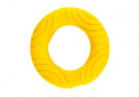 Chuckle City Squeaky Latex Ring 13,5cm Yellow Toys For Dogs