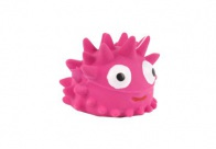 Chuckle City Squeaky Latex Hedgehog 5cm Pink Toys For Dogs