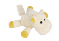 Chuckle City Plush Toy with Squeaker Horse Mixed Colours 15 cm