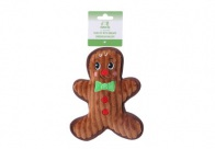 Chuckle City Plush Toy with Squeaker Gingerbread Man 19 cm