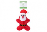 Chuckle City Plush Toy with Squeaker Santa 22 cm