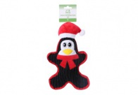 Chuckle City Plush Toy with Squeaker Penguin 28 cm