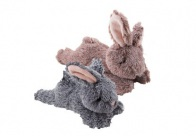 Dawgeee Squeaky Plush Rabbit 25 cm mixed colors Plush Toy for Dogs