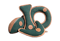 Tuff-Wuff Boomerang Leather 16 cm Toys For Dogs
