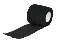 Show Tech Self-Cling Bandage Black 7,5cmx4,5M Bandage For Dogs