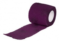 Show Tech Self-Cling Bandage Purple 7,5cmx4,5M Bandage For Dogs