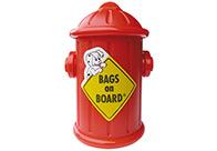 Bags On Board-Blue+Fire Dispenser*