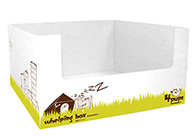 4Pups Whelping Box 80x80x40cm For Dogs And Cats
