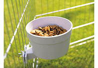 Savic Coop Cup Plastic Crock Cage Bowl For Dogs