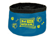 Show Tech Folding Water Bowl Travel Accessories For Dogs