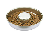 Show Tech Puppy Feeding Dish Stainless Steel For Puppies