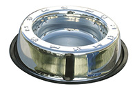 Show Tech Anti Skid Dish Paws & Bones Feeding Bowl For Dogs
