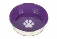 Show Tech Pet Bowl Antislip Paars