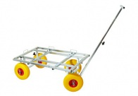 Explorer Adjustable Crate Trolley Cage Transporter For Dogs min. 91X63 cm - max 135X73 cm