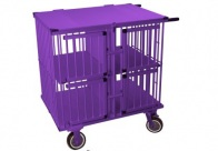 Show Tech All-in-One Show trolley 4 berth Purple 95x65x100cmh Trolley for Dogs