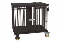 Show Tech All-in-One Show trolley 2 berth Black 78x54x83cmh Trolley for Dogs