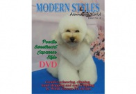 Magazine Creative scissoring, handstripping, clippering  + DVD Magazine For Groomers
