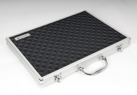 Groom-X Scissor Case Portable with Diamond ABS Panel for Groomers