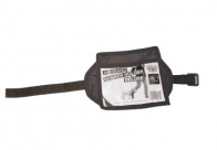 Show Tech Armband Number Holder Deluxe Black Number Holder For Groomers
