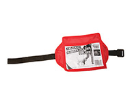 Show Tech Armband Number Holder Deluxe Red Number Holder For Groomers