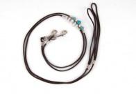 Show Tech Lead 100cm with Swarovski Beads Mixed Colours