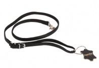 Dapper Dogs Lead JEWEL Black 1,3 x 100cm Lead