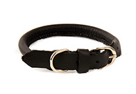 Dapper Dogs Collar Round Leather For Dogs
