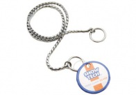 Show Tech Snake Chain Silver Show Chain For Dogs