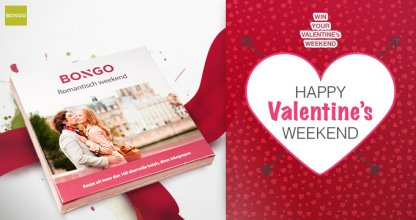 Win a romantic weekend for two!*